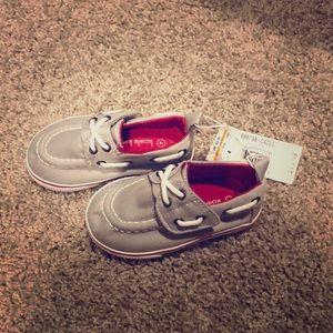 Baby Boy Grey Sock Shoes